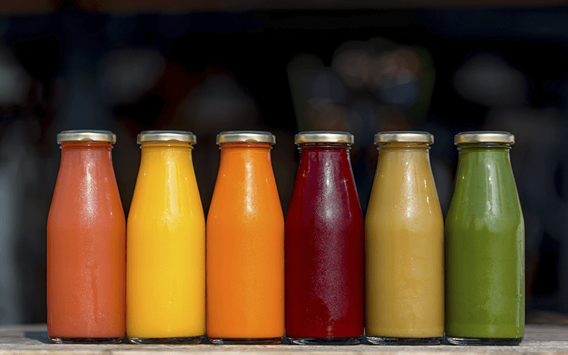 Natural colorants for food and beverages