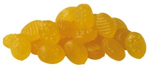 Lemon candy uses annatto for its yellow color